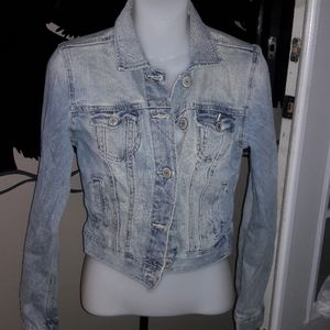 Womens sz S American Eagle jean jacket